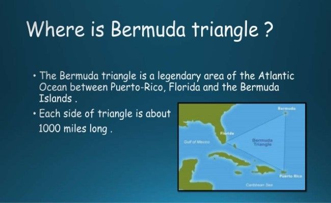 recent research on bermuda triangle A new discovery has revived an old theory about ocean water gobbling up ships in the bermuda triangle if, that is, the bermuda triangle even exists researchers from the bermuda triangle research has shown that such eruptions could sink sea vessels, as nbc news reported in.