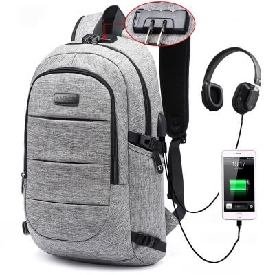 Business Anti Theft Waterproof Travel Backpack